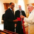 Pope begs for forgiveness over Rwandan genocide